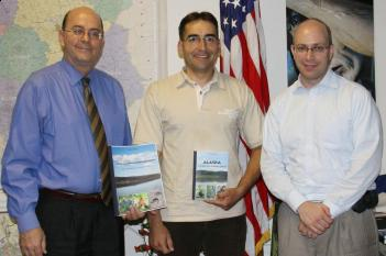 Mr. Allen Greenberg, Consul General of the USA in Cracow, took an honorary patronage over my books about Alaska (photo by U. S. State Department)
